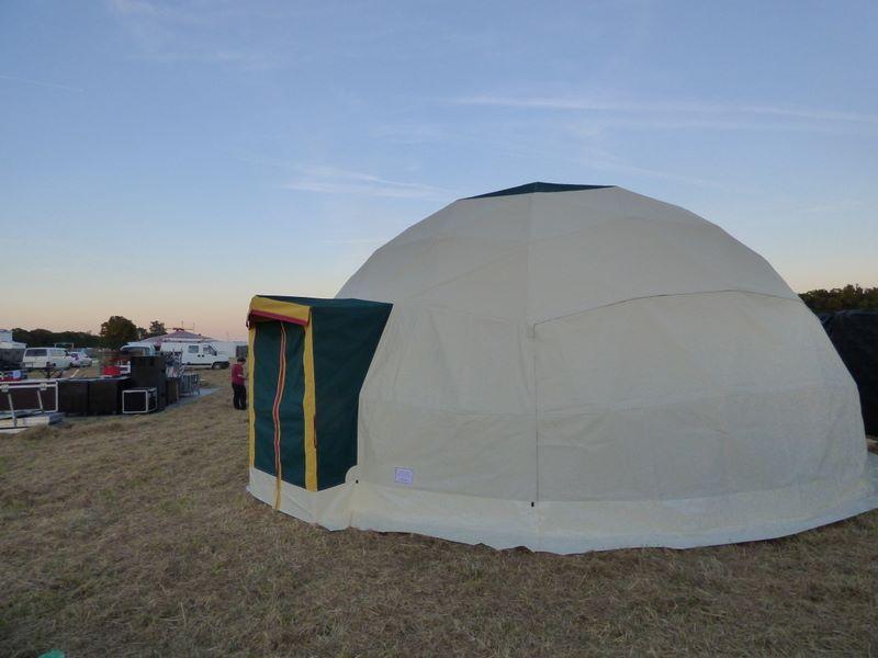 Dôme géodésique, fréquence 4, 45M²