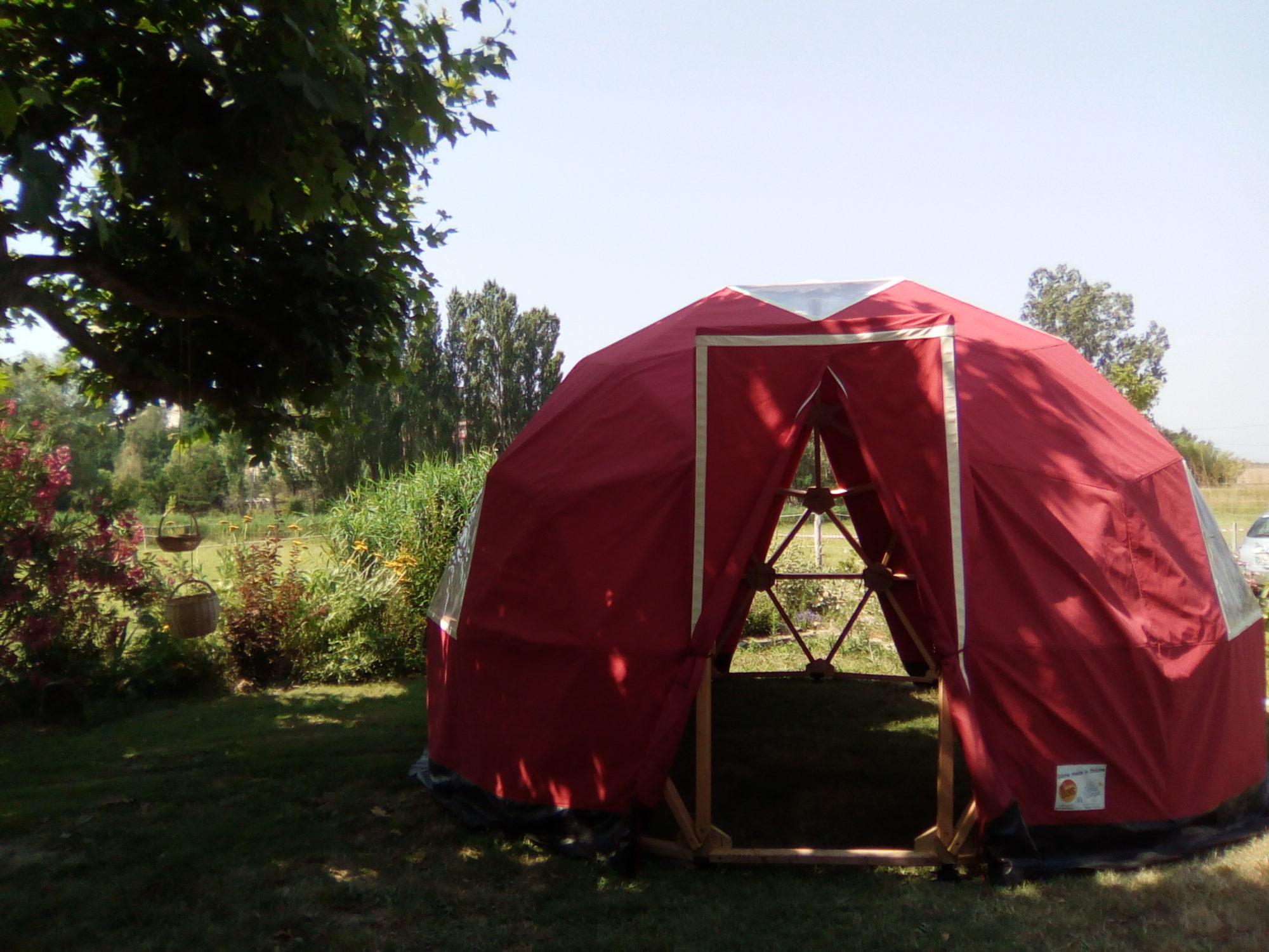 Dômes géodésiques - fréquence 3 - Camping