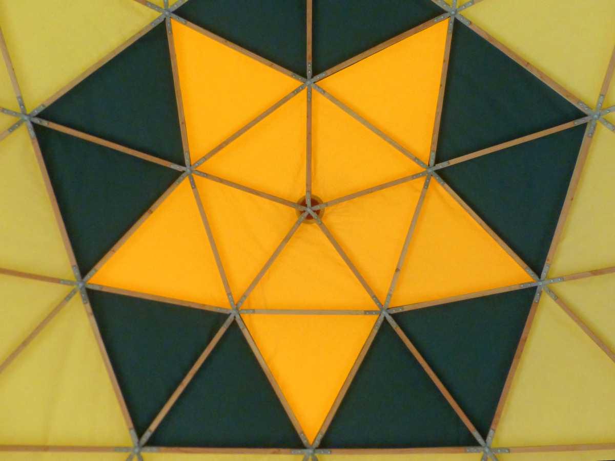 Dômes géodésiques, fréquence 4, 45M²