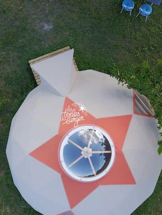 Dome étoilé - gite à la campagne